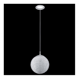 91766 Lalita 1 Light Pendant Polished Chrome