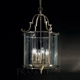 LA7010/6 Montagu 6 Light Ceiling Lantern Bronze