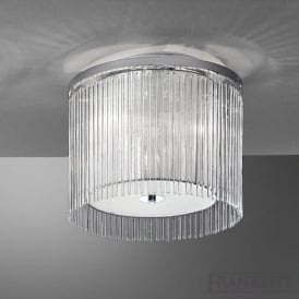 FL2190/3 Eros 3 Light Ceiling Light Polished Chrome