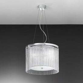 FL2191/3 Eros 3 Light Ceiling Pendant Polished Chrome
