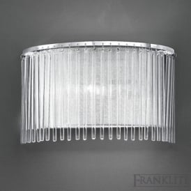 FL2190/1 Eros 1 Light Wall Light Polished Chrome