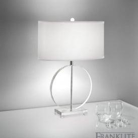 TL878 Hugo Collection 1 Light Crystal Table Lamp