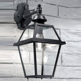 EXT6601 Nerezza 1 Light Outdoor Wall Light Dark Grey IP23