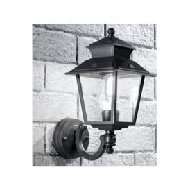 EXT6605 Giardino 1 Light Outdoor Wall Light Dark Grey IP23