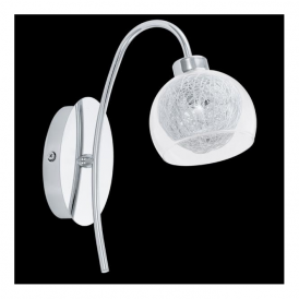 93057 Oviedo 1 Light Wall Light Polished Chrome