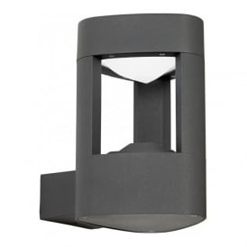 EL-40074 Tribeca Outdoor LED Wall Light Aluminium IP54