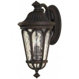 Lighting Feiss FE/REGENTCT/M Regent Court 2 Light Outdoor Wall Light Walnut