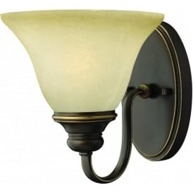 Lighting Hinkley HK/CELLO1 Cello 1 Light Wall Light Antique Bronze