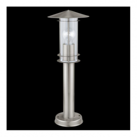 30187 Lisio 1 Light 1 Light Outdoor Post Lamp Stainless Steel IP44