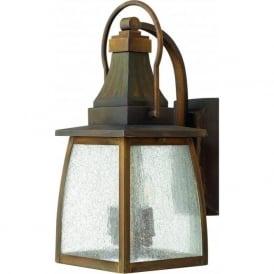 Hinkley HK/MONTAUK/M Montauk 2 Light Outdoor Wall Light Sienne