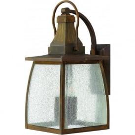 Lighting Hinkley HK/MONTAUK/L Montauk 4 Light Outdoor Wall Light Sienne