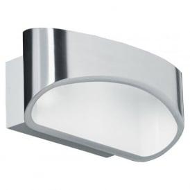 JOHNSON-CH 1 Light Modern LED Wall Light Chrome