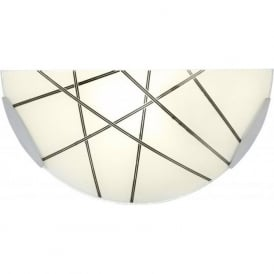 CROSBY-1WBCH 1 Light Wall Light Polished Chrome