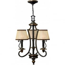 Hinkley HK/PLYMOUTH3 Plymouth 3 Light Ceiling Light Olde Bronze