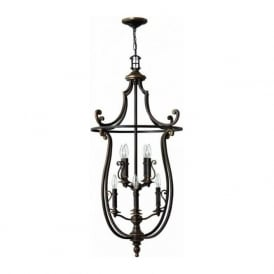 Hinkley HK/PLYMOUTH8/P Plymouth 8 Light Ceiling Light Olde Bronze