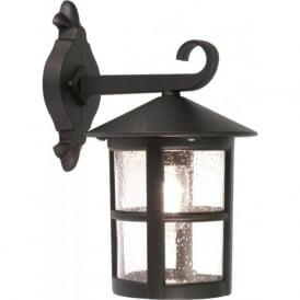 BL21/G Hereford Grande Outdoor 1 Light Wall Lantern Black IP43