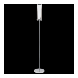 89836 Pinto 1 Light Floor Lamp Polished Chrome