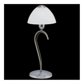 89825 Milea 1 Light Table Lamp Satin Nickel