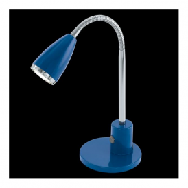 92875 Fox 1 Light LED Table Lamp Blue