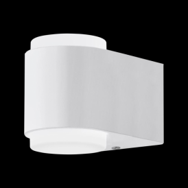 95077 Briones LED Outdoor Wall Light White IP44