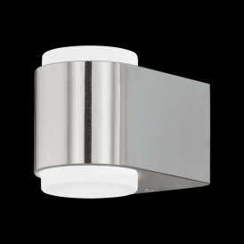95079 Briones LED Outdoor Wall Light Stainless Steel IP44