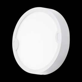 95083 Alfena Round LED Outdoor Wall Light White IP44
