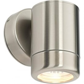 14016 Atlantis 1 Light Outdoor Wall Light Marine Grade Stainless Steel IP65