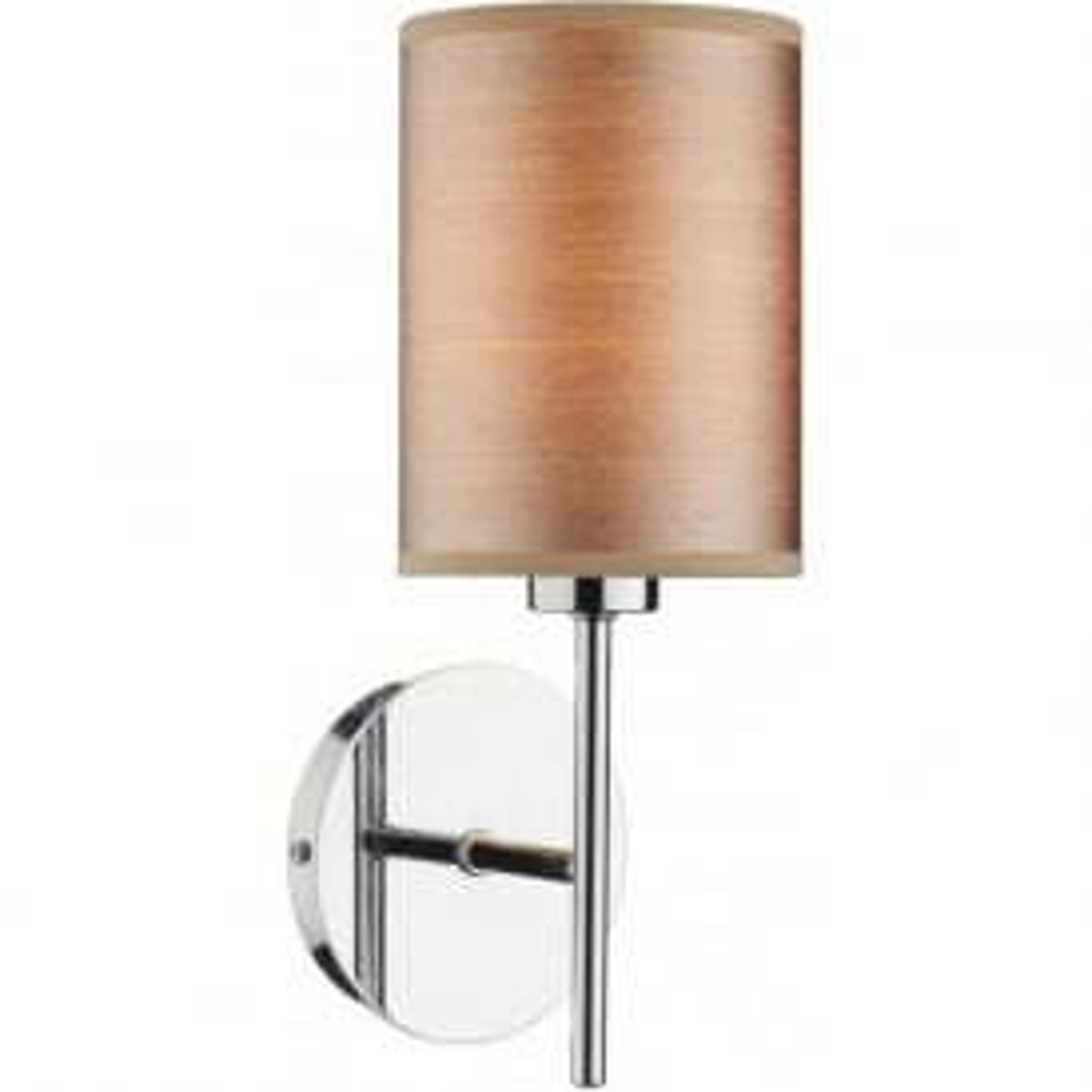 TUS0746/S1060 Tuscan 1 Light Wall Light Satin Chrome