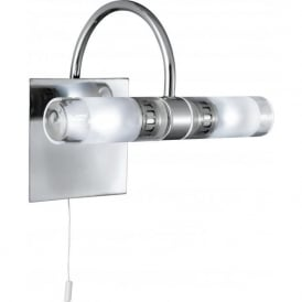 2555CC Bathroom Lights 2 Light Wall Light Polished Chrome