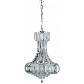 30021CC Sigma 6 Light Ceiling Pendant Polished Chrome