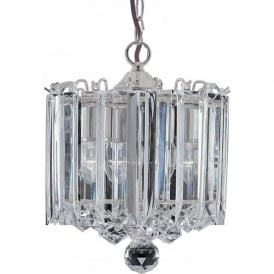 6713CC Sigma 3 Light Ceiling Pendant Polished Chrome