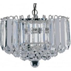 6715CC Sigma 4 Light Ceiling Light Polished Chrome