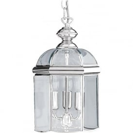 5133CC Lanterns 3 Light Ceiling Pendant Polished Chrome