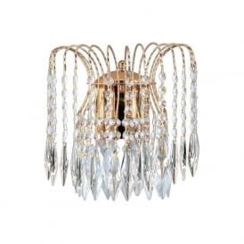 5172-2 Waterfall 2 Light Wall Light Gold