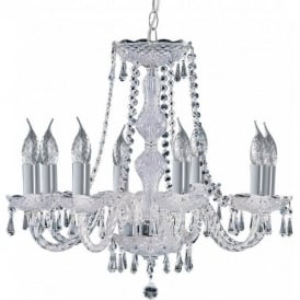 218-8 Hale 8 Light Chandelier Polished Chrome