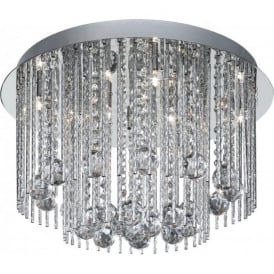 8088-8CC Beatrix 8 Light Semi-Flush Ceiling Light Polished Chrome