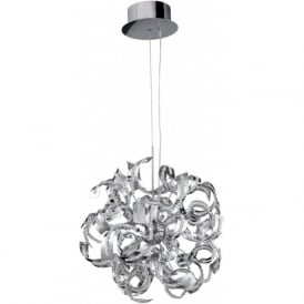 6299-9CC Sparkles 9 Light Ceiling Pendant Polished Chrome