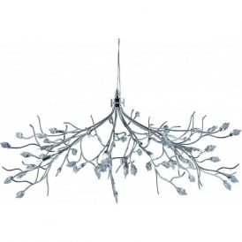 8110-10CC Willow 10 Light Ceiling Light Polished Chrome
