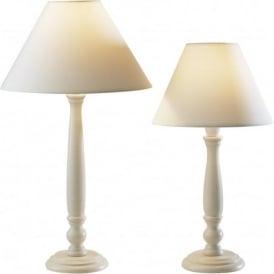 REG4233 REG4333 Regal 1 Light Table Lamp Cream