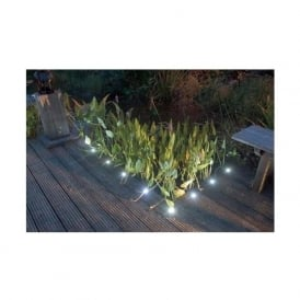 SD45 Round 45mm LED Decking Walkover Plinth Lights IP66 10 Pack
