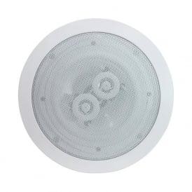 Audio6 OCE6-8 White 6.5 Inch 120 Watt Dual 8 Ohm Ceiling Speaker Single