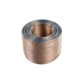 LSP-050LC High Quality Clear Sheath Speaker Cable 2 x 1.5mm (Per Metre)