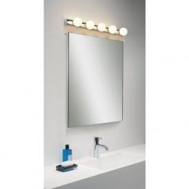 0957 Cabaret 5 IP44 Bathroom Wall Light in Chrome