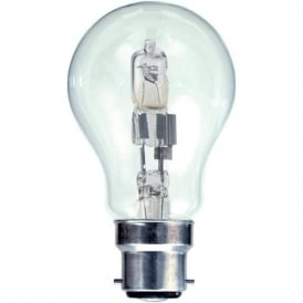 BC/B22 Standard GLS Eco Lamp Energy Saving Halogen Bulb