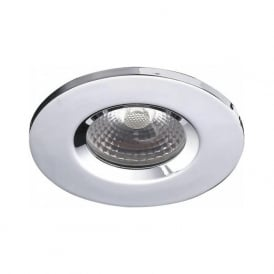 VEG9650 Vega Fire Rated LED Bathroom IP65 Downlight Polished Chrome