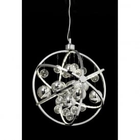 MUNI-CH Muni LED Ceiling Pendant Polished Chrome