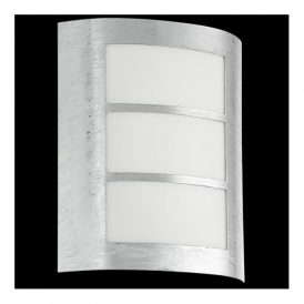 88487 City 1 Light Outdoor Wall Light Hot-dip Galvanised IP33 Rated