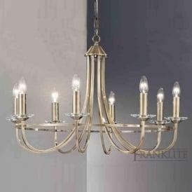 FL2147/8 Carousel 8 Light Ceiling Light Soft Bronze