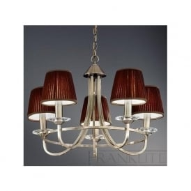 FL2147/5 Carousel 5 Light Ceiling Light Soft Bronze
