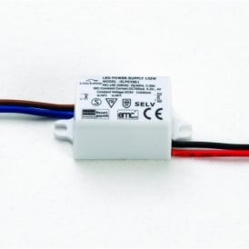 1275 - DC 350mA 3w Lighting Driver Power Supply Constant Current
